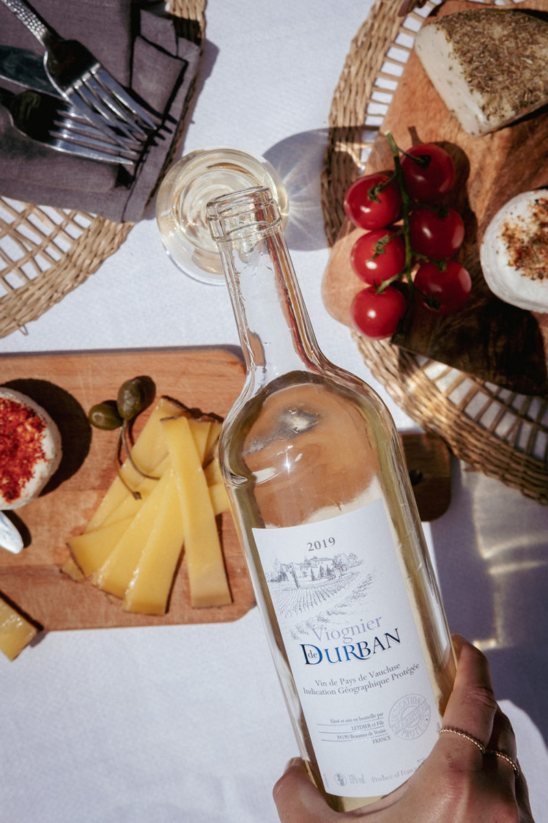 Viognier de Durban IGP Vin de Pays de Vaucluse  blanc sec  2020